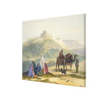 Kelaut-i-Chiljie, platea 8 de 'paisaje, Inhabitan Impresión En Lienzo