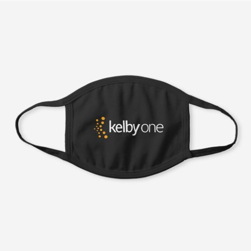 KelbyOne Black Cotton Face Mask