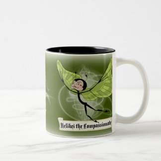 Kelikei the Compassionate Two-Tone Coffee Mug