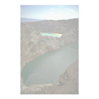 Kelimutu Crater Lakes, Moni, Indonesia Custom Stationery