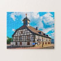 Kelkheim Town Hall Germany. Jigsaw Puzzle