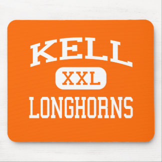 Kell - Longhorns - High School - Marietta Georgia Mouse Pad