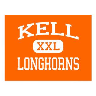 Kell - Longhorns - High School - Marietta Georgia Postcard