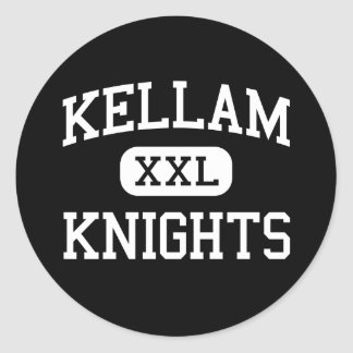 Kellam - Knights - High - Virginia Beach Virginia Classic Round Sticker