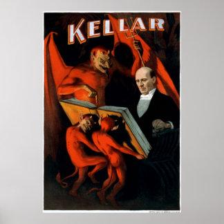 Kellar and his servants poster