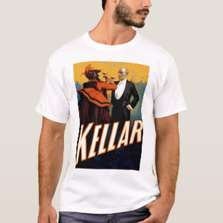 "Kellar - ""bebida con la camiseta del diablo"""