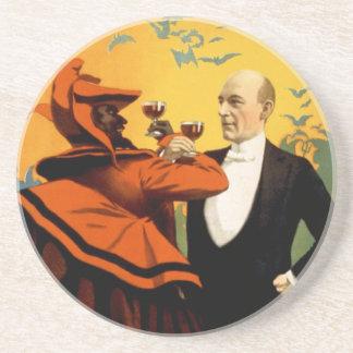 Kellar - bebidas con el diablo posavaso para bebida
