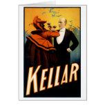 Kellar - bebidas con el diablo tarjeta