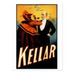 Kellar - bebidas con el diablo tarjetas postales