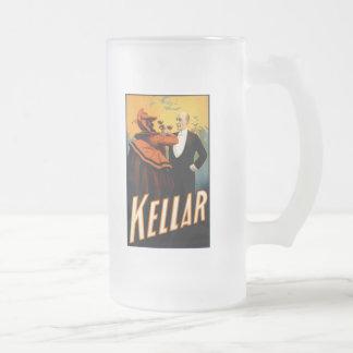 Kellar - bebidas con el diablo taza de cristal