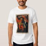 Kellar Devil and Demons with Magic Book Poster T-Shirt