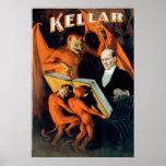 Kellar Devil Magician Print