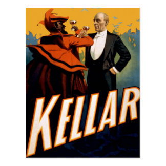 "Kellar - ""Drink with the Devil"" Postcard"