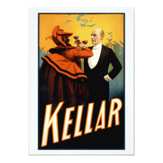 Kellar - Drinks with the Devil Card