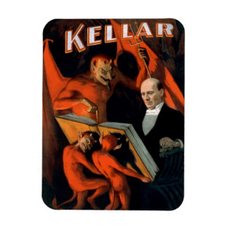 """Kellar - imán """"de las instrucciones del diablo"""""""