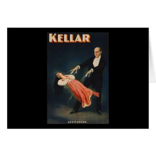 Kellar Levitation 3 Card