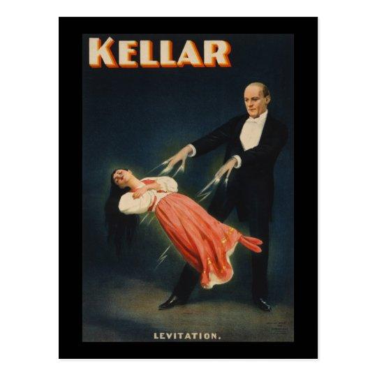 Kellar Levitation 3 Postcard