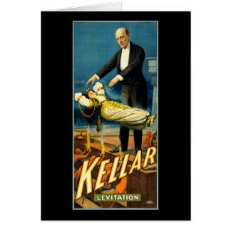 Kellar Levitation Greeting Card