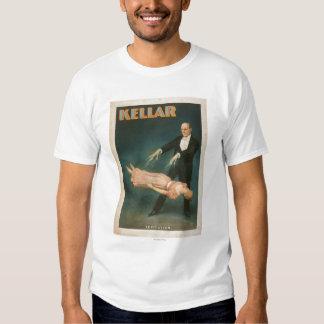 Kellar Levitation Magic Poster #1 T-Shirt