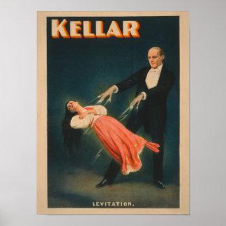 Kellar Levitation Magic Poster #2