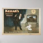 KELLAR Magician Illusionist VAUDEVILLE Poster