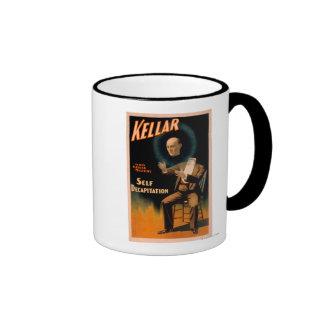 Kellar performing Self Decapitation Magic Ringer Coffee Mug