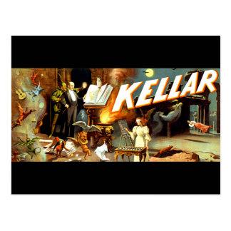 KELLAR POST CARD