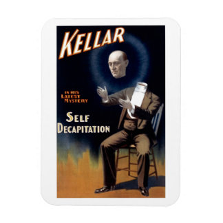 "Kellar - ""Self Decapitation"" Magnet"