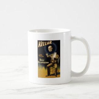 Kellar self decapitation classic white coffee mug