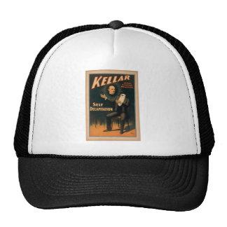 Kellar, 'Self Decapitation' Vintage Theater Trucker Hats