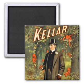 Kellar Strolls With The Spirits! Fridge Magnets