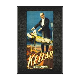 Kellar the Magician I Stretched Canvas Print