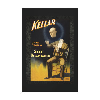Kellar the Magician II Stretched Canvas Print