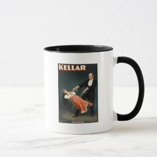 Kellar the Magician Levitation - Vintage Ad Mug