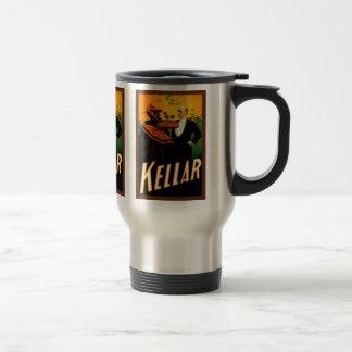 Kellar the Magician 15 Oz Stainless Steel Travel Mug