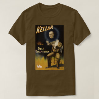 Kellar The Magician Self Decapitation Tee by KoWa