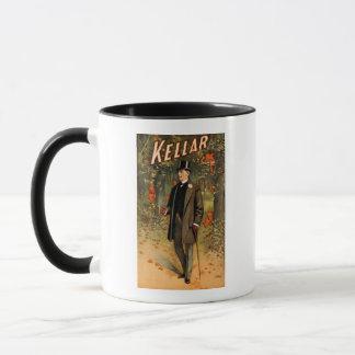 Kellar the Magician with Devils - Vintage Ad Mug