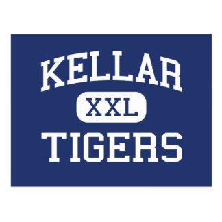Kellar - tigres - joven - Robbins Illinois Postal