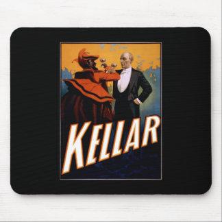 Kellar toasts the Devil Mouse Pad
