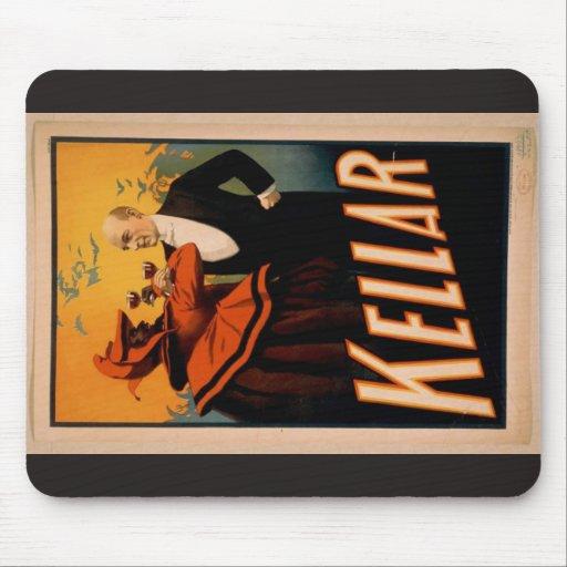 Kellar Vintage Theater Mouse Pad