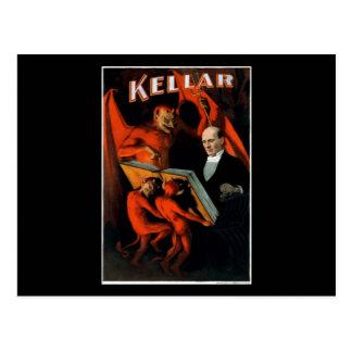 Kellar y sus criados postales