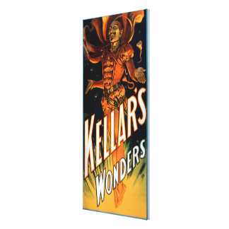 Kellar's Wonders Dressed like Devil Magic Gallery Wrap Canvas
