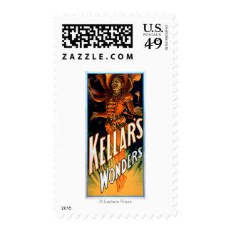 Kellar's Wonders Dressed like Devil Magic Stamp