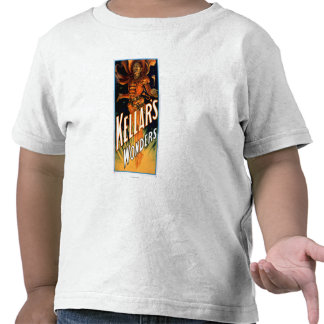Kellar's Wonders Dressed like Devil Magic Tshirts