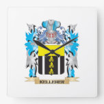Kelleher Coat of Arms - Family Crest Wall Clocks
