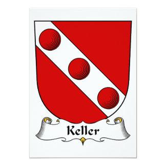 Keller Family Crest Card