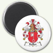 Keller Family Crest Magnet