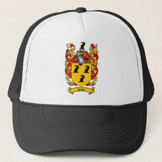 KELLER FAMILY CREST -  KELLER COAT OF ARMS TRUCKER HAT