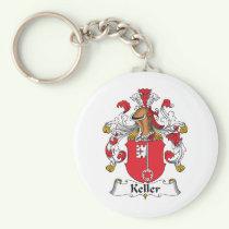 Keller Family Crest Keychain