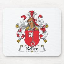Keller Family Crest Mousepad